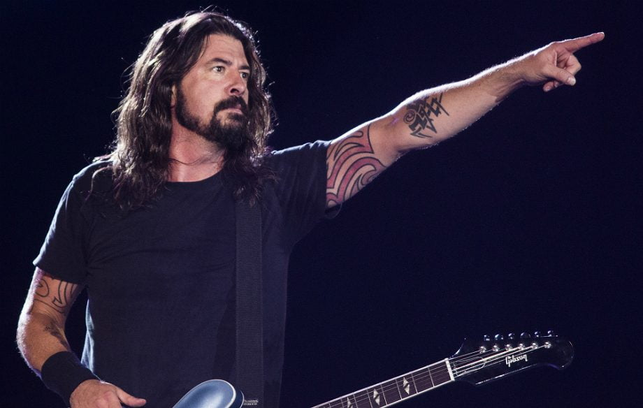 Dave Grohl Live