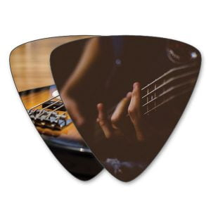 Custom Bass Picks