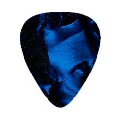 Custom Vintage Guitar Picks - Blue