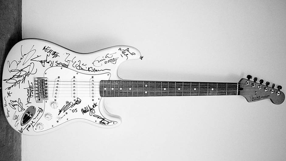 Expensive guitar in the world