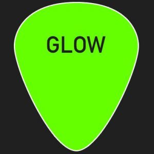 Glow in the dark - Custom guitar picks