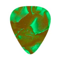 Custom Vintage Guitar Picks - Green