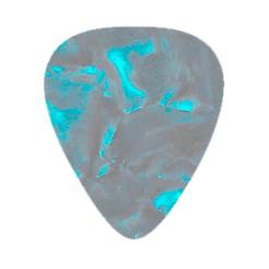Custom Vintage Guitar Picks - Light Blue