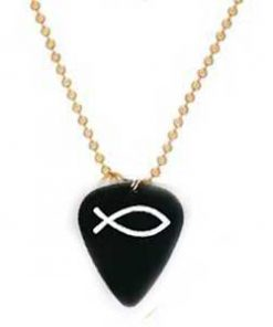 Guitar Pick - Gold Necklace