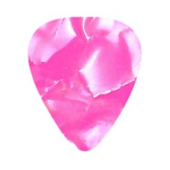 Custom Vintage Guitar Picks - Pink