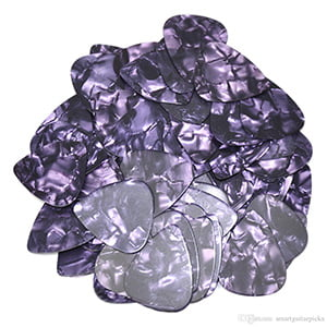 Custom Vintage Guitar Picks - Purple