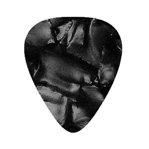 Custom Vintage Guitar Picks - Black