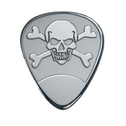Silver Pick - Skull